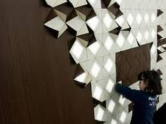 「origami wall」の画像検索結果