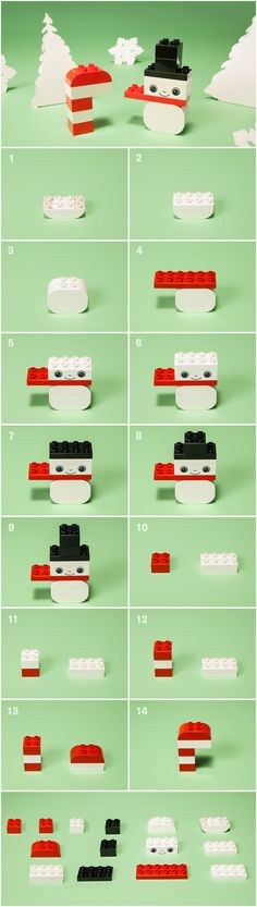 While your little one eagerly waits for those first fluttery flakes to fall, have them build their very own LEGO DUPLO DIY snowman. (snowman crafts for school) Lego Christmas, Noel Christmas, Christmas Crafts, Lego Design, Lego Activities, Christmas Activities, Legos, Lego Therapy, Lego Advent