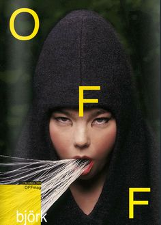Creative Poster, Offmag, Bjork, Issue, and Tasar image ideas & inspiration on Designspiration Editorial Layout, Editorial Design, Layout Design, Design Art, Logos Retro, Bjork, Fashion Cover, Design Poster, Grafik Design