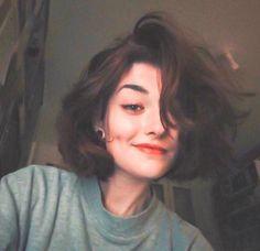 Hair Inspo, Hair Inspiration, Aesthetic Hair, Grunge Hair, Dream Hair, Blue Hair, Pretty Hairstyles, Hair Looks, Pretty People