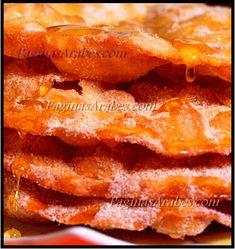 Oasis de azúcar y miel - Los Buñuelos - (Zalabia) http://paginasarabes.com/2012/02/23/oasis-de-azucar-y-miel-los-bunuelos-zalabia/