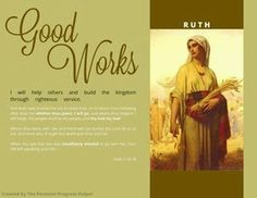 Scriptural Women of Value Poster Ruth from the Old Testament! Free Download