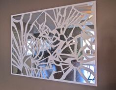 Broken mirror on the wall, who is the craftiest one of all?? Haha :)