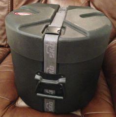 SKB 12x8 12x9 Tom Drum Case Hardcase Hard shell Lined Jazz RIMS Bag USA flight