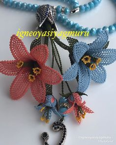 good night🤗🤗 rosary is for sale serious buyers dm please bea . - Pauline Jox Home Love Decorations, Needle Tatting, Lace Design, Baby Knitting Patterns, Crochet Flowers, Good Night, Needlework, Appreciation, Diy And Crafts