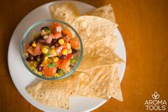 Try this easy and delicious salsa recipe next time you are looking for a healthy snack or side dish. The fresh vegetables combine with subtle hints of essential oil in a most satisfying way.