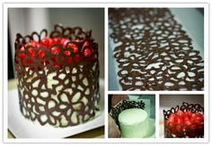 Yummy Lace Chocolate Cake Decorating Tutorial | DIY Tag