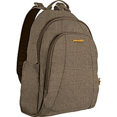 Pacsafe—Metrosafe 350 GII Anti-Theft Daypack in Tweed (13') via eBags.com for US$109.99