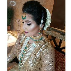 Desi Bridal Makeup And Hair Dallas Indian Bride By Ms Painted Lady