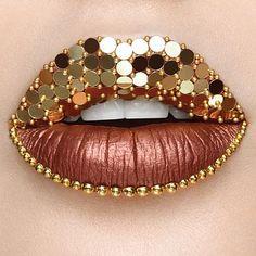 Smashbox Always On Metallic Matte Liquid Lipstick – Bold Digger – 8580147 Smashbox Always On Metallic Matte Flüssiger Lippenstift – Bold Digger Lip Art, Lipstick Art, Lipstick Colors, Liquid Lipstick, Lip Gloss Colors, Lip Colors, Makeup Art, Lip Makeup, Fairy Makeup