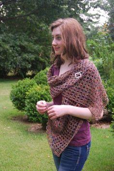 The Crochet Express: 2016 NatCroMo Blog Tour   Featured Designer: Edie Eckman   Pattern: Stacie Shawl   #NatCroMo #blogtour #crochet #crochetdesigner