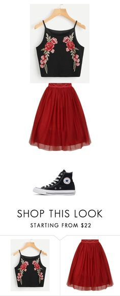 """""""October 26"""" by ottoca ❤ liked on Polyvore featuring Converse"""