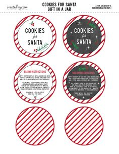 5 diy holiday baked gifts in a jar with free printable recipe tags free printable to create adorable gifts in a jar a terrific chocolate chip cookie recipe to prepare for santas arrival negle Choice Image