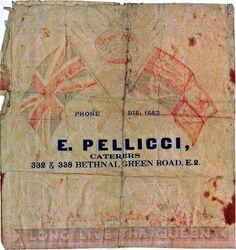 E. Pellicci, Bethnal Green Road, E2