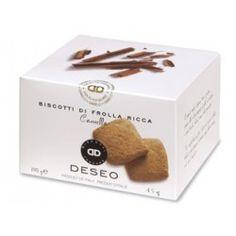 Cinnamon shortbread cookies - The intense cinnamon note enhances our classic shortbread recipe! #delicitaly #italianfood #pastry #shortbread #cinnamon