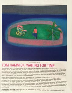 At the same time as putting on his solo show at Sladers Yard, Tom Hammick has curated an exhibition of 60 of his artistic heroes at the Towner Gallery in Eastbourne. Entitled Towards Night, the sh… Art Painting, Printmaking, Fine Art, Fine Art Painting, Artist, Prints