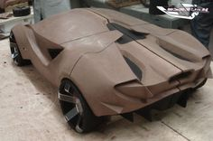 Abarth-23 Concept clay model