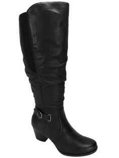 Bare Traps Women's Rosemary Wide Calf Tall Boots Black Size 9 M #BareTraps #KneeHighBoots #Casual