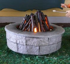 how to: fire pit from Joanne's Minis - /UniversalMom001/barbie-clothing-furniture-etc/ BACK