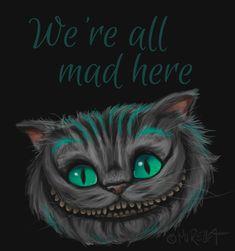 We're all mad here by Mirella-Gabriele.deviantart.com on @deviantART