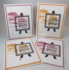 Painter's Palette Birthday cards   Stampin'Up!   Bloglovin'