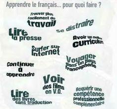 Pourquoi apprendre français?