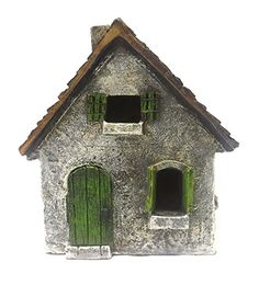 Fairy Garden House-Morning Glory Cottage with Swinging Door