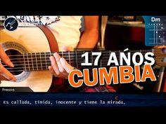 """Cómo tocar """"17 Años"""" de Los Ángeles Azules / CUMBIA (HD) Tutorial - Chri..."""