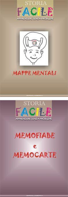 -Mappe mentali pronte per Storia -Memofiabe e Memocarte