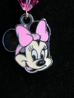 Minnie Mouse and  Swarovski Crystals Dust Cover by JudysEtsyStore, $7.99