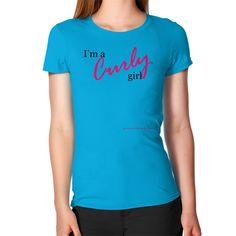 Curly Girls Women's T-Shirt