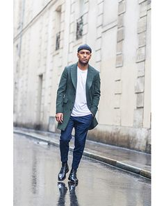 Nabile Quenum, of blog jaiperdumaveste.com, captures Paris's laissez-faire cool looks | GQ Global Street Style: Paris