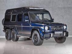 Šestikolový Mercedes-Benz G 500 z devadesátek je na prodej, stojí 2,1 milionu korun