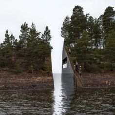 Such a powerful idea: Landscape intervention by Jonas Dahlberg to honour Norwegian terrorist attack victims