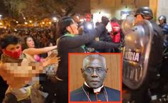 "Cardinal Sarah's warning of ""demonic"" ""apocalyptic beasts"" of ""the idolatry of Western freedom"" verified in Argentina Some of today's stories reveal that LifeSite cannot exaggerate the extreme importance of what is happening at the Synod on the Family in Vatican City.  There is indeed a great battle being played out in that three-week meeting."