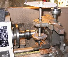 Cut a lathe change gear