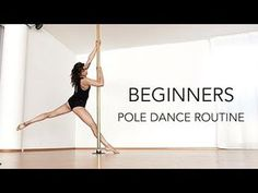 Pole dance routine for beginners VERY EASY (first pole class) Pole Dance Moves, Pole Dance Fitness, Pole Fitness Clothes, Barre Fitness, Fitness Plan, Fitness Tips, Health Fitness, Pole Classes, Belly Dancing Classes