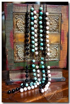 """prayer beads, also available as a """"scarf necklace"""". wonderful!"""