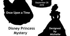 July 2016: Disney Princess Mystery Quilt Along from Fandom