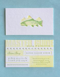 41 Beautiful Examples of Letterpress Business Cards | inspirationfeed.com