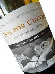 'The Passion of Tango'.....Chardonnay.....read on......    Dos por Cuatro Chardonnay 2010, Mendoza, Argentinië | 3 Wijngekken die dol zijn op wijn ! Mendoza, Tango, Three Friends, White Wine, Drinks, Bottle, Drinking, Beverages, Flask