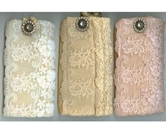 Lace glasses case from Miss Rose Sister Violet, now available in store.