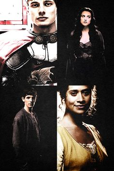 Favorite Character(s); (I couldn't choose and also there is a question similar to this one later)Arthur, Morgana, Merlin, and Gwen