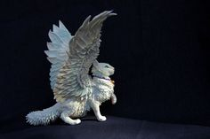 Payment-2 winged cat par DemiurgusDreams sur Etsy