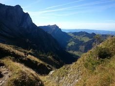 Trail to the Pilatus mountain, Switzerland