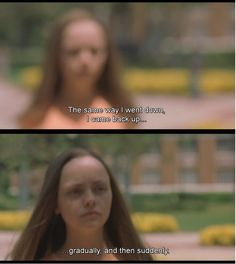 Prozac Nation. I would pin almost every scene of this movie if I could