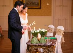 A wedding from another of my favourite venues - Finnstown House Hotel. This was in late Autumn - with great colourful vegetation around the grounds. Late Autumn, Unity Candle, Autumn Wedding, Wedding Photos, Castle, Table Decorations, Lighting, House, Color