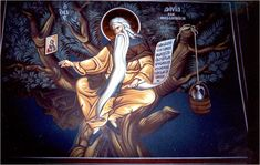 IcSKDavidT - St David of Thessaloniki Orthodox Icon - Eastern Giftshop Meditation Garden, Heaven Sent, Catholic Saints, Thessaloniki, Orthodox Icons, Religious Art, Christianity, St David, Painting