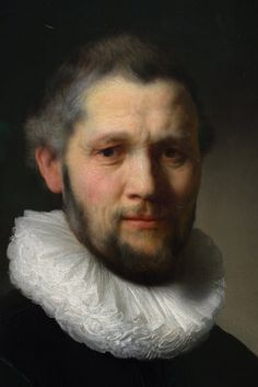 Rembrant- What I found most interesting almost immediately was the sense of emotion in his face and how he is slightly grinning.