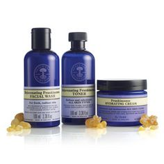 Rejuvenating Frankincense Facial Wash 3.38 fl.oz Rejuvenating Frankincense Toner 3.38fl.oz Frankincense Hydrating Cream 1.76 oz